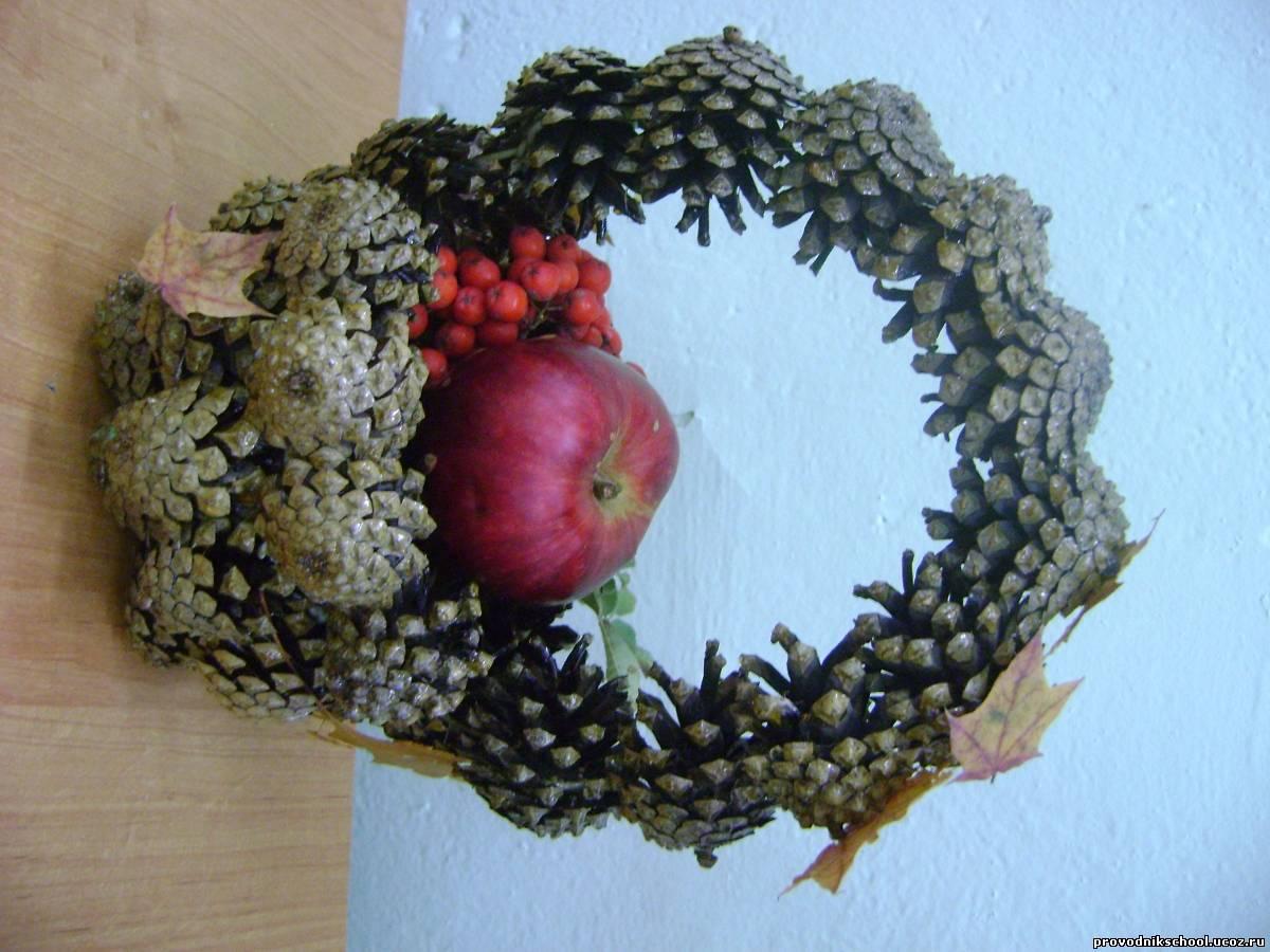 Осенние поделки из природного